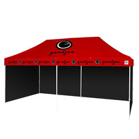3m x 6m Professional Aluminum Frame Outdoor Roof Printed Marketing Pop Up Gazebo Folding Tent Event Advertising Display Marquee