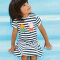 New 2017 Quality Brand 100% Cotton Baby Girls Dress Short Sleeve Children Clothing Kids Clothes Girls Casual Dress For Baby Girl