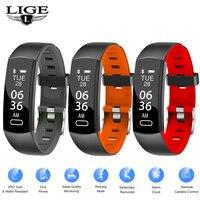 BANGWEI Новый смарт часы Для мужчин Для женщин монитор сердечного ритма трекер активности IP67 Водонепроницаемый часы для Android ios смарт часы для ф
