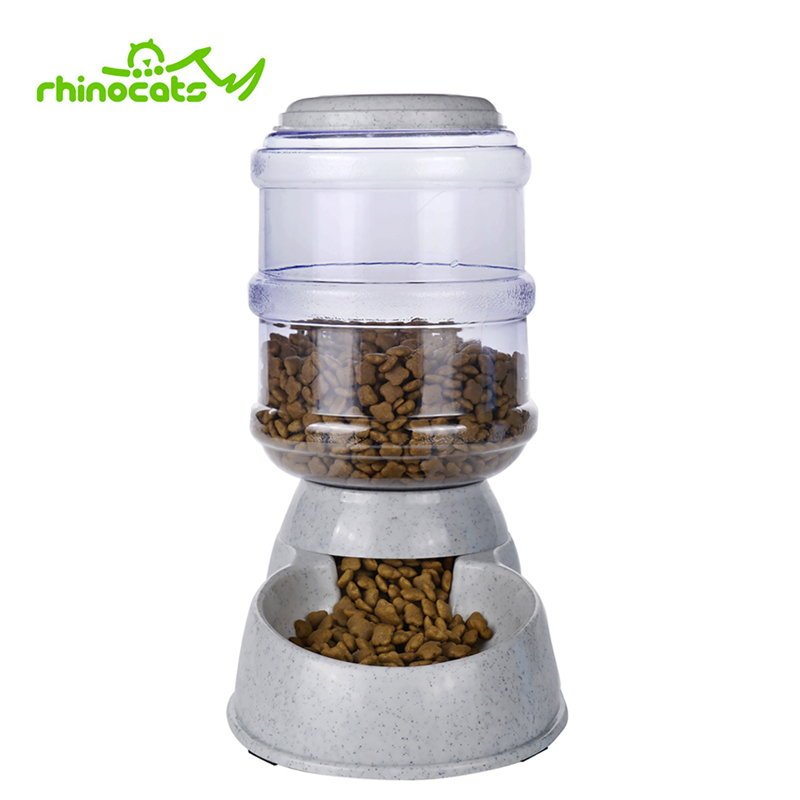 3.5L Automatic Dog Feeder For Pets Cats Food Container Bowl Slow Eat Feed Dogs Cats Dispenser Pet Supply Product For Doggy Puppy