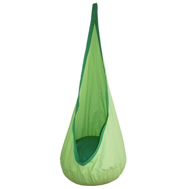 Kids Summer Hammock Hanging Chair Pod Swing Nook Tent Indoor Outdoor Child Seat Sleeping