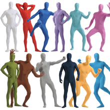 HAPPY ISLAND Adult Invisibility Zentai Suits Blow Up Blue Purple Green Red 26 Colors