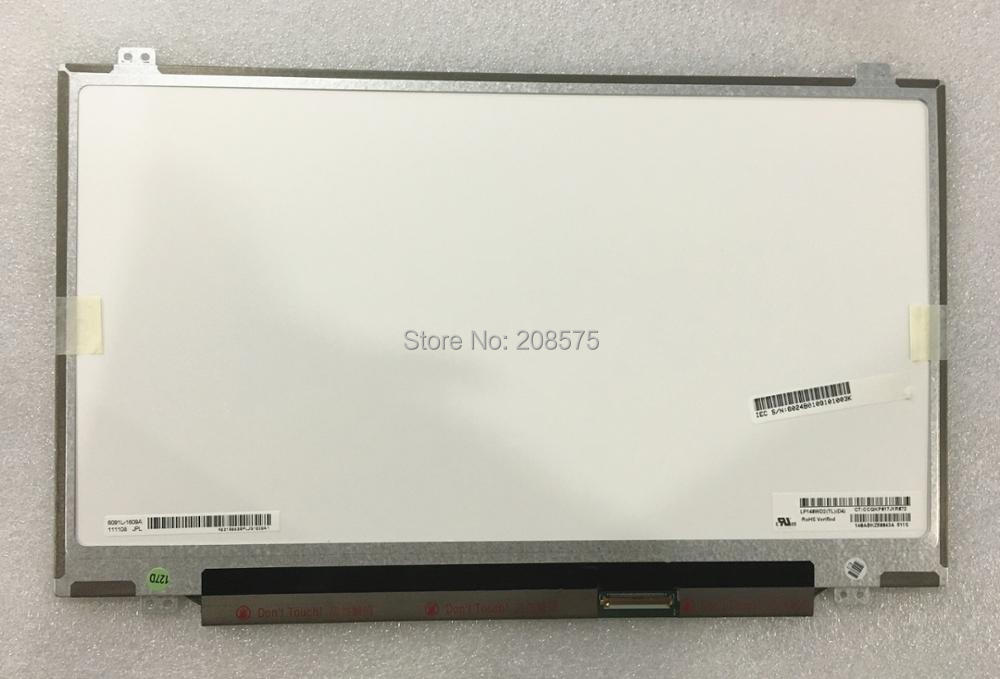 Free shipping LP140WD2 TLD4 LP140WD2 TLD2 TLB1 TLD1 B140RW02 V.1 LTN140KT03 N140FGE-LA2 32 Laptop Lcd Screen 1600*900 40 pin цена