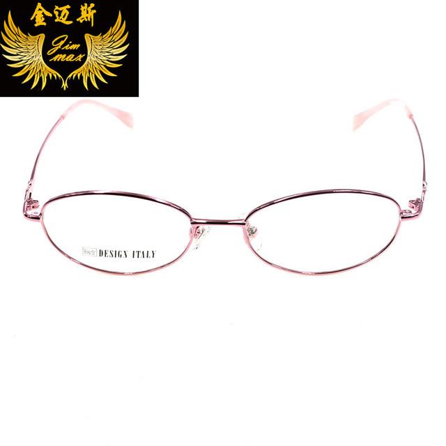 Mulheres novo Estilo de Óculos de Aço Inoxidável 2016 Qualidade Da Moda Strass Frame Ótico Eyewear Para As Mulheres de Design Da Marca Oculos
