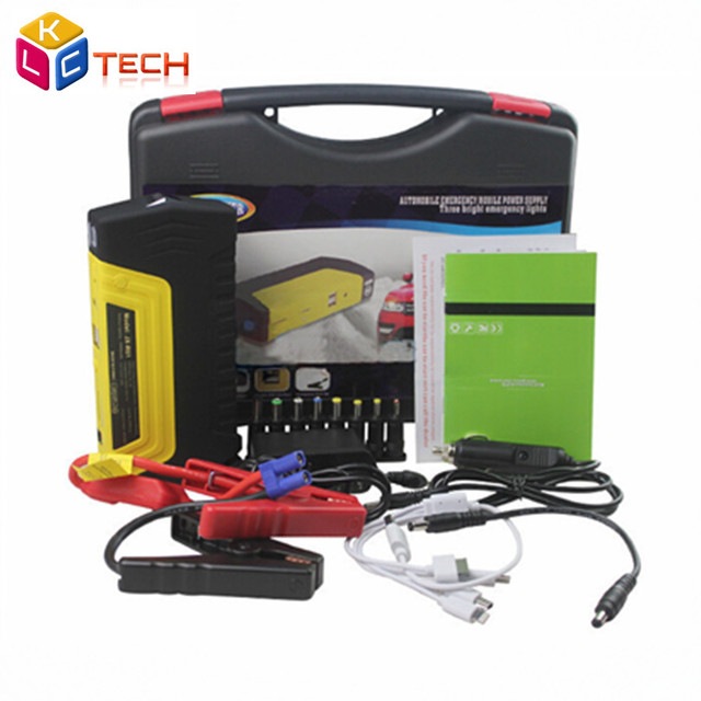 High Quality Plastic Box Jump Car Jump Starter Auto Emergency For Starting Car Emergency Auto Battery High capacity Power Bank