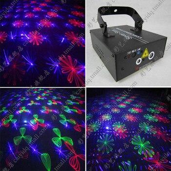 Venta Rojo Verde Azul duplo duplo de Laser vermelho de Luz luzes de efeito padrão de Luz centenas de padrões