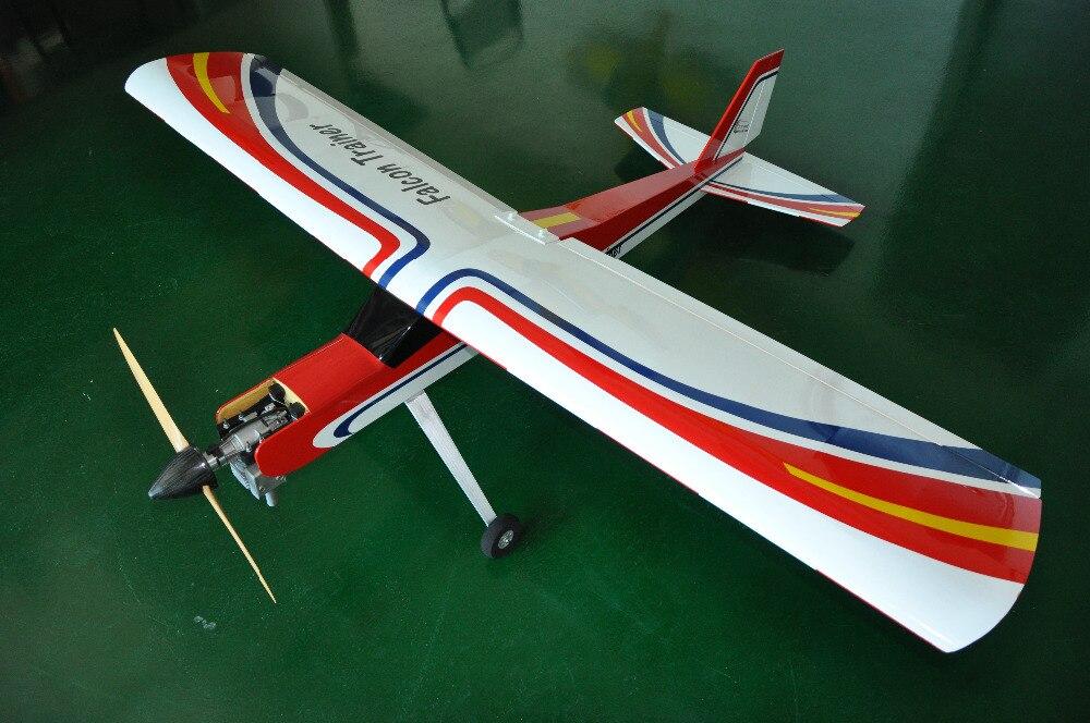 Falcon тренажер 20cc радиоуправляемого самолета на бензине Balsa деревянная модель самолета для тренера