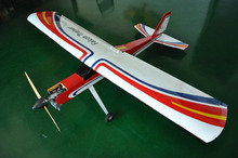 Falcon Trainer 20cc Gasoline RC Airplane Balsa Wood Plane Model Aircraft for Trainer