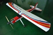 Halcón Trainer avión gasolina RC Balsa, modelo de avión de madera, 20cc