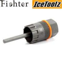 Icetoolz 09C1 Freewheel Tools Kit For Shimano Cassette Center Lock Disc Brakes Installer Remover Tool For