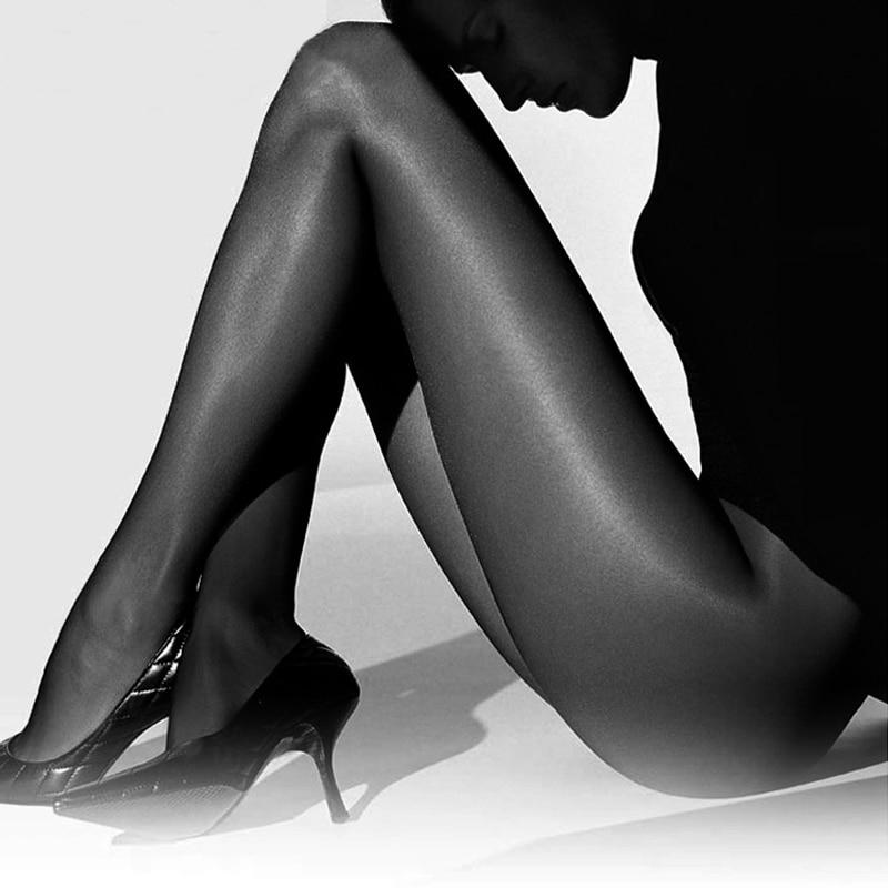 New Super Elastic Magical Shiny Tights Women Collant Sexy Silk Stockings Anti-hook Thin Pantyhose Medias Sexy Nylons Women FX20