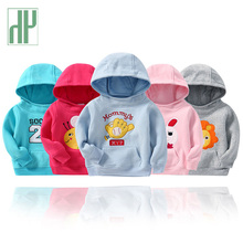 Toddler Boys hoodies winter clothes for children fall kids baby Girls Sweatshirt Hooded Casual Streetwear T-shirts  1-5 years цены онлайн