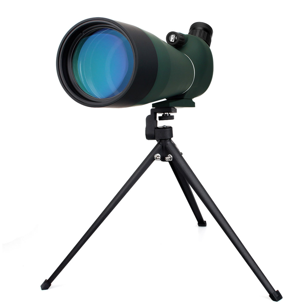 LAIDA Spotting Scope 20-60x80 Zoom Eyepiece for Hunting Birdwatching Shooting Archery w/ Desktop Tripod M0064