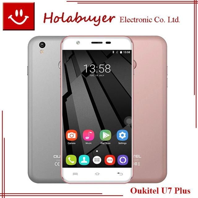 Original Oukitel U7 Plus Pro 5.5inch MT6737 Quad Core Mobile phone 4G LTE 2G RAM 16G ROM 8MP Rear Camera Android 6.0