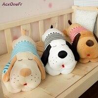 Plus Size Plush Large Dog Toy Doll Lying Prone To Sleep Soft Stuffed Long Pillow Sweet