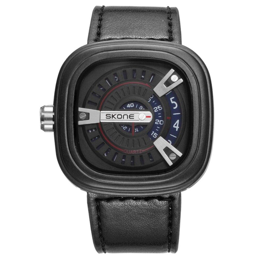 online get cheap nice watch brands for men aliexpress com skone 2016 brand for mens sports casual quartz watches relogio masculino calendar waterproof leather strap nice