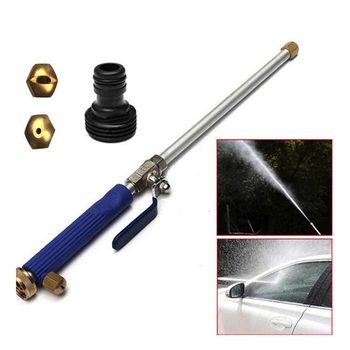 цена на Car High Pressure Power Water Gun Washer Water Jet Garden Washer Hose Wand Nozzle Sprayer Watering Spray Sprinkler Cleaning Tool