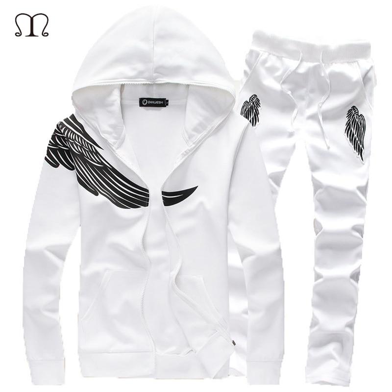 Tracksuit Men Brand Clothing Sping Autumn Hood Sweatshirt Casual Set Men Brand Men s SportSuit Men