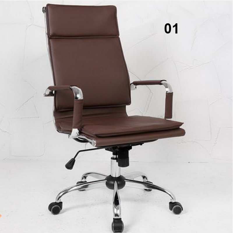 240310/Computer Chair/High quality PU leather/Stereo thicker cushion/Steel handrails/ Household Office Chair / 240335 computer chair household office chair ergonomic chair quality pu wheel 3d thick cushion high breathable mesh