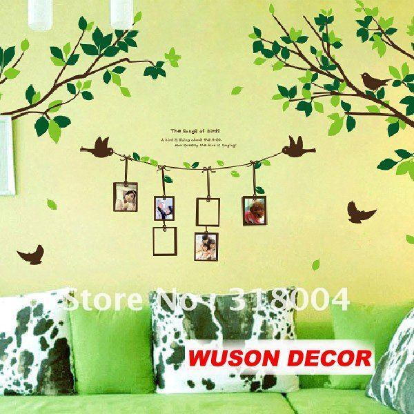 Photo Tree, home decoration wall sticker, wall paper, living room ...