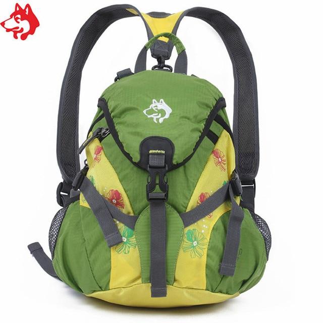 children's Red/Blue/Green outdoor hiking backpack little boy girl Student camping sport school bag trekking hiking backpack
