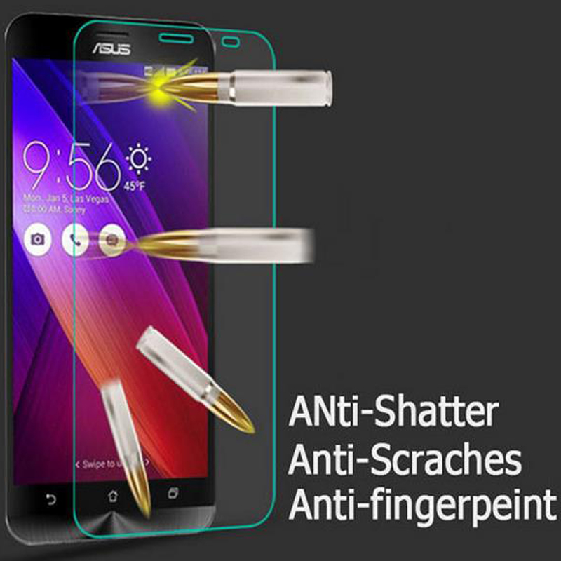 9H 0.26mm Tempered Glass For Asus Zenfone 2 Laser Ze500KL Ze550KL 5 GO ZC451TG 3 Max Zc520TL ZB452KG ZC553KL ZB500KL Case Film(China)