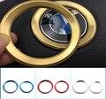 2016 car styling Excelente Nueva 3D volante de aleación de aluminio Etiqueta para BMW E34 E36 E39 E60 E90 E46 Coche Accesorios