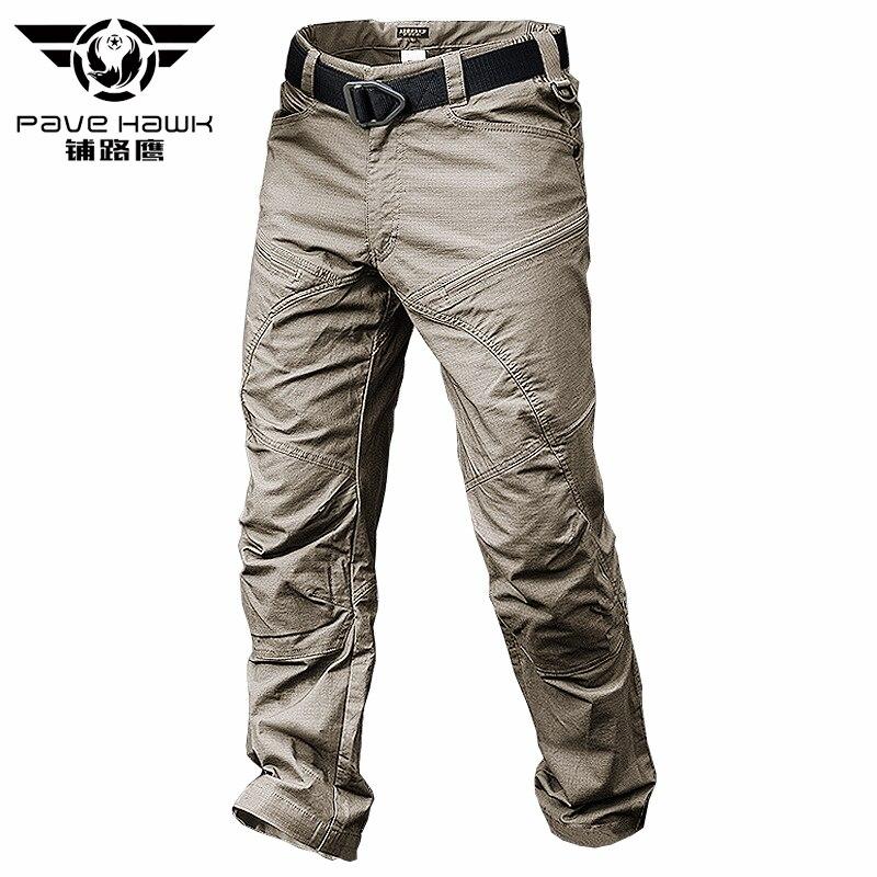 Pantalon tactique imperméable d'été survêtement masculin décontracté pantalon Cargo pour hommes pantalon en coton Style militaire armée noir homme pantalon décontracté