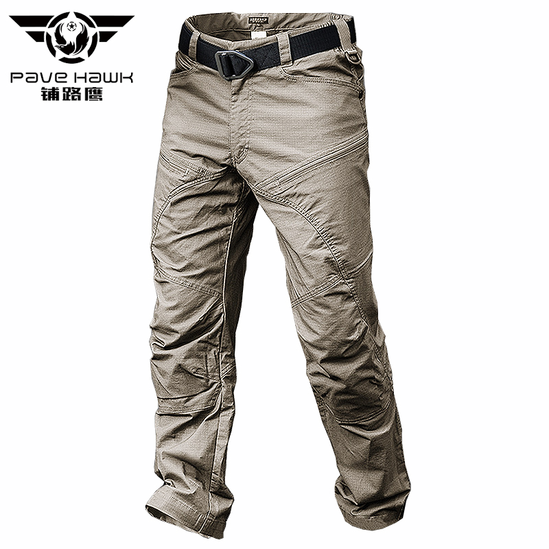 Man Pant Jogger Cotton Trousers Military-Style Army Black Male Waterproof Men's Summer title=