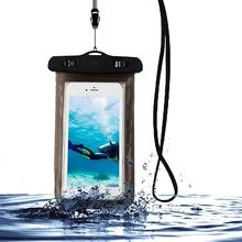 Waterproof Phone Case Cover Touchscreen Cellphone Dry Diving Bag Pouch with Neck Strap for iPhone for Xiaomi for Samsung(China)