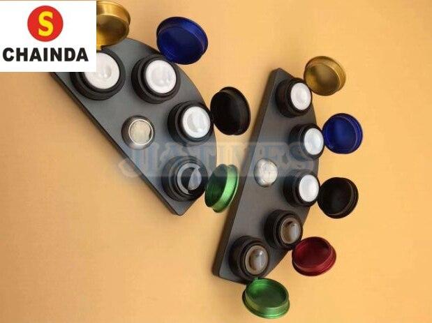 Öl Tassen Stand Druckguss Legierung mit 4/5 Farbige Container Uhr Reparatur-in Reparatur-Werkzeuge & Kits aus Uhren bei  Gruppe 1