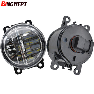 Image 5 - 2PCS Car styling 12V H11 High Brightness white LED Fog Lights for Mitsubishi outlander 2018 High quality