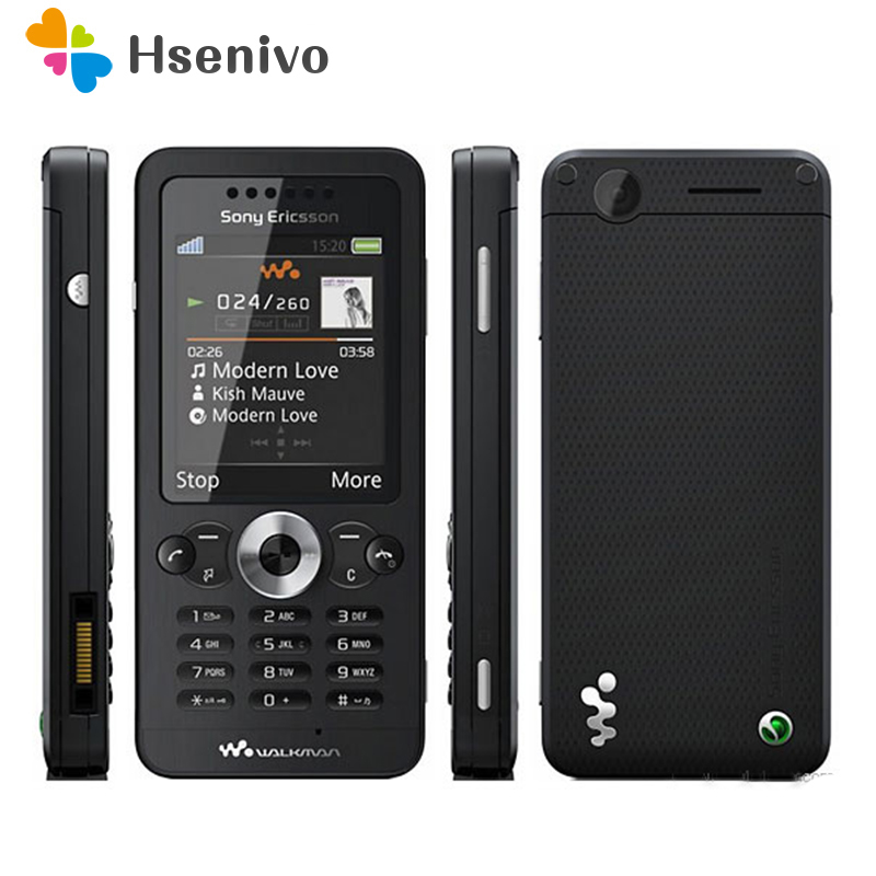 W302 100% Original Unlokced Sony Ericsson W302 W302C Mobile Phone 2G Bluetooth 2.0MP Camera FM Unlocked Cell Phone Free shipping