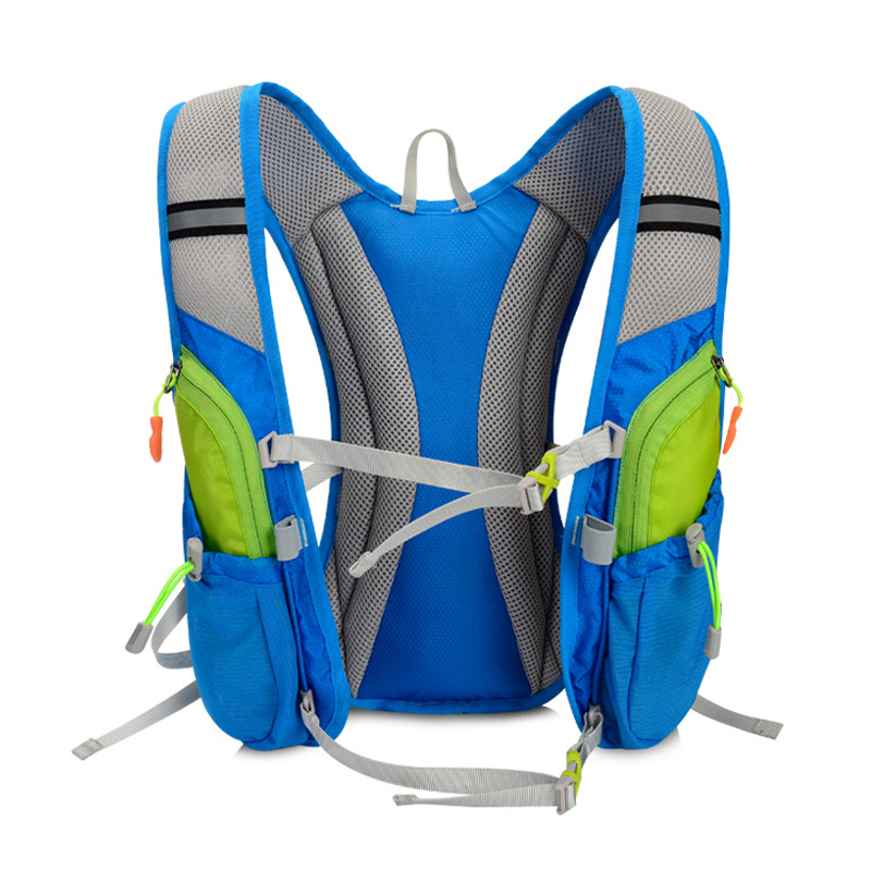 Image 5 - TANLUHU 675 Ultralight Outdoor Marathon Running Cycling Hiking Hydration Backpack Pack Vest Bag For 2L Water Bag Bladder Bottle-in Running Bags from Sports & Entertainment