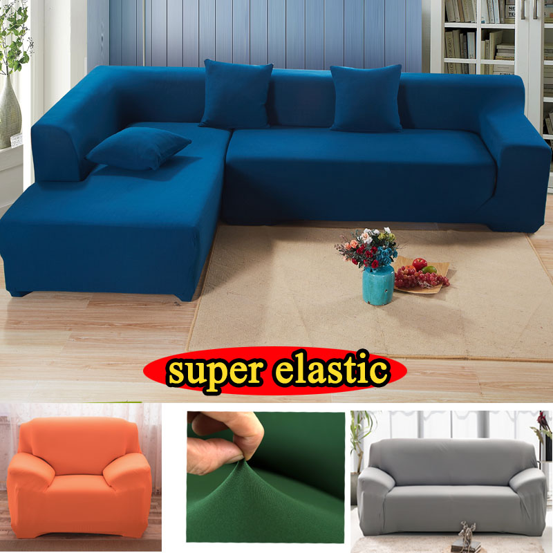 Popular l shaped sofa cover buy cheap l shaped sofa cover - Housse de canape ...