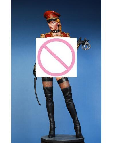 Unpainted Kit 1 9 200mm pretty police girl 200mm Historical Figure Resin Kit