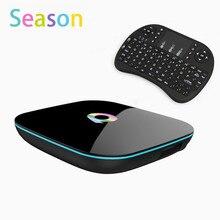 Q Box Android 6.0 TV Box Amlogic S905X Quad Core 2GB/16GB Qbox Dual WIFI BT4.0 KODI Smart Media Player