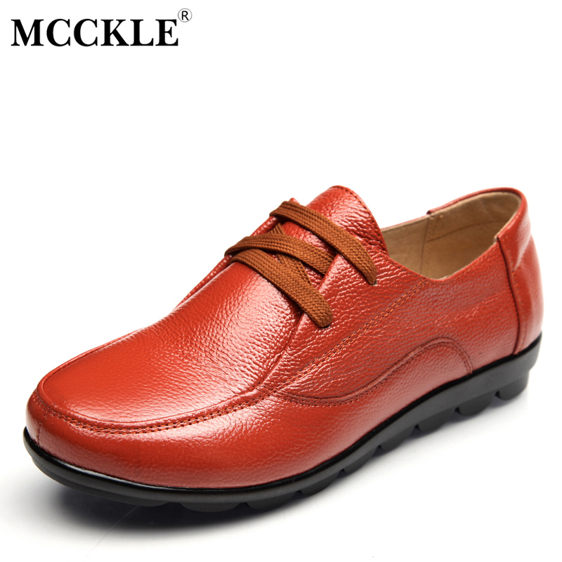 MCCKLE 2017 Fashion Women's Shoes Black Female Lace-up Comfortable Low-Heels Sexy Ladies Woman Platform Plus Size Wedges mcckle 2017 fashion woman shoes flat women platform round toe lace up ladies office black casual comfortable spring