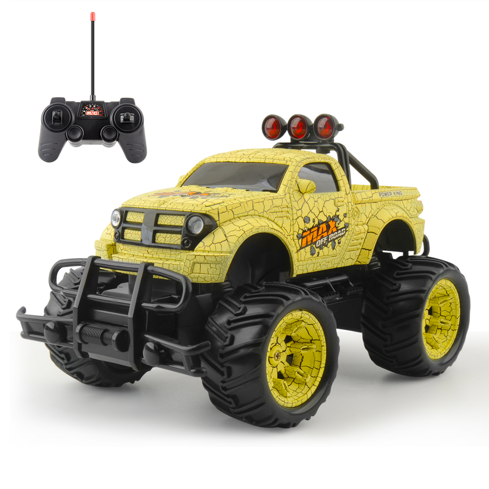 Rc Car 1/20 Cars On The Remote Control 27MHZ Monstertruck Off Road Cars oyuncak Toys For Children Islamabad