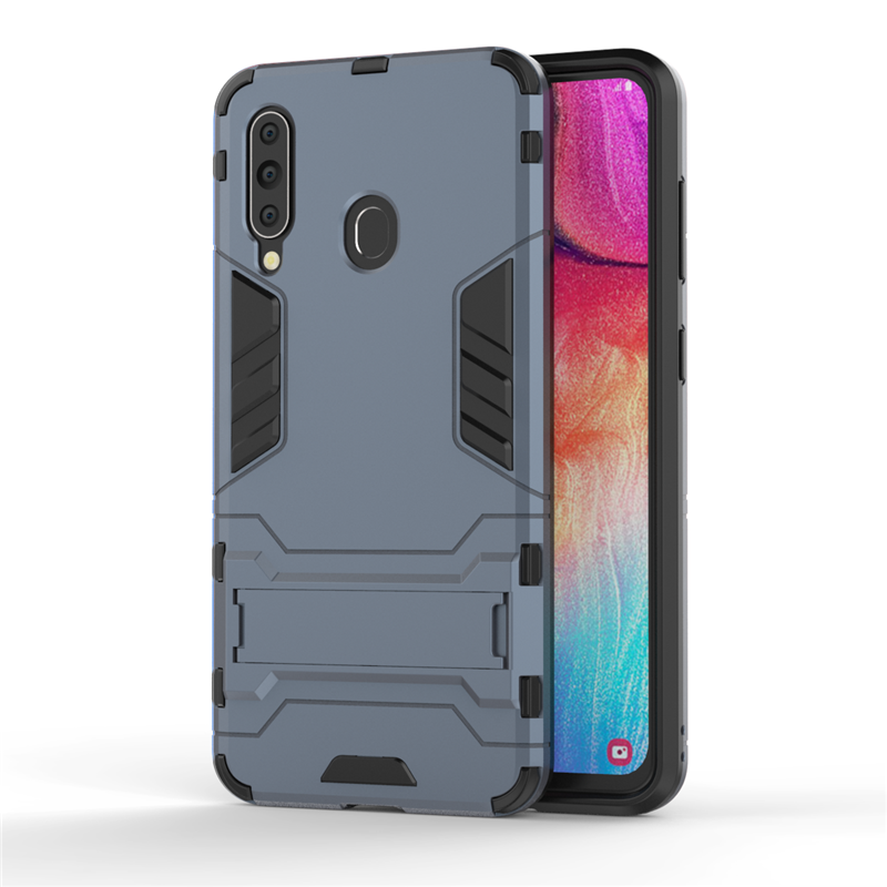 Image 5 - For Samsung Galaxy A60 Case SM A606 Luxury Robot Hard Back Fundas Phone Case For Samsung Galaxy A60 Cover For Samsung A60 Case-in Fitted Cases from Cellphones & Telecommunications