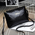 PU Leather Women Messenger Bags bolsa feminina bolsas mujer High Quality Sac Shoulder Crossbody Ladies Female Girls Zipper Stone