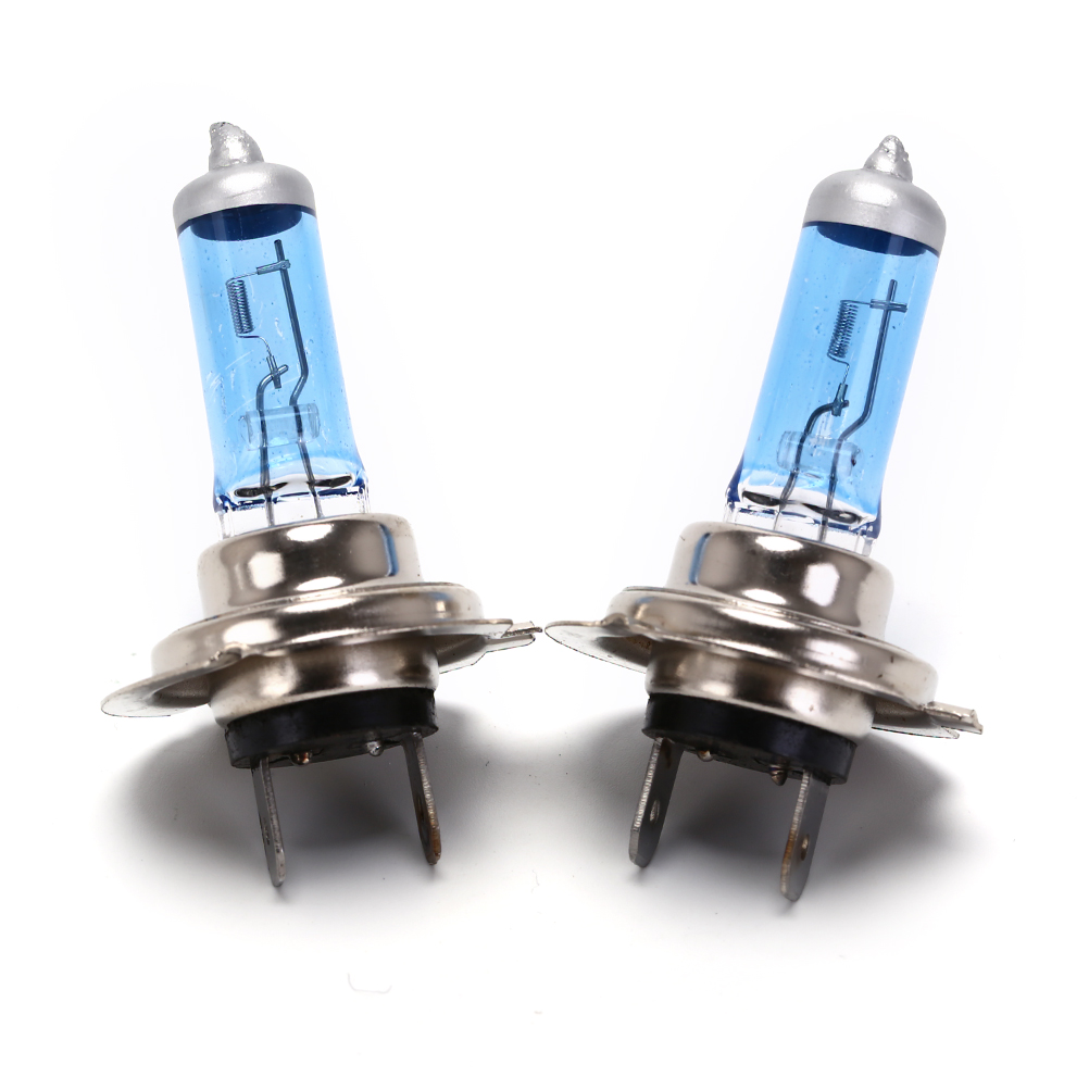2pcs Car Xenon Halogen Bulb 55W/ 100W DC 12V H7 Car Light Fog Halogen Bulbs