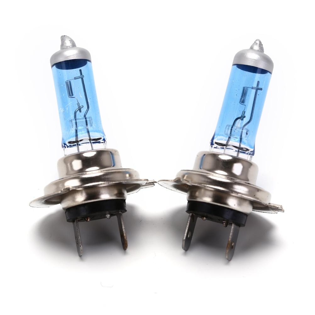 2pcs Car Xenon Halogen Bulb 55W/ 100W DC 12V H7 Car Light Fog Halogen Bulbs