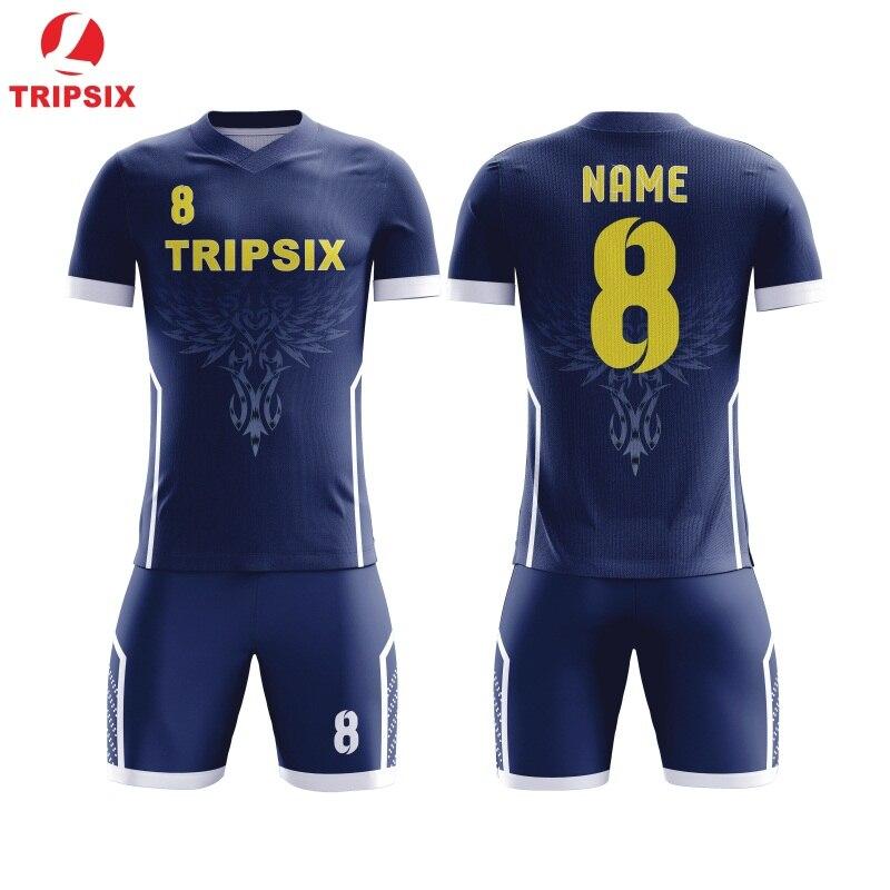 Ster Patroon Sublimatie Persoonlijke Naam En Nummer Voetbal Jersey