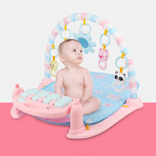 3 in 1 Baby Play Mat Baby Gym Toys Soft Lighting Rattles Musical Toys For Babies Educational Toys Play Piano Gym Baby Gifts