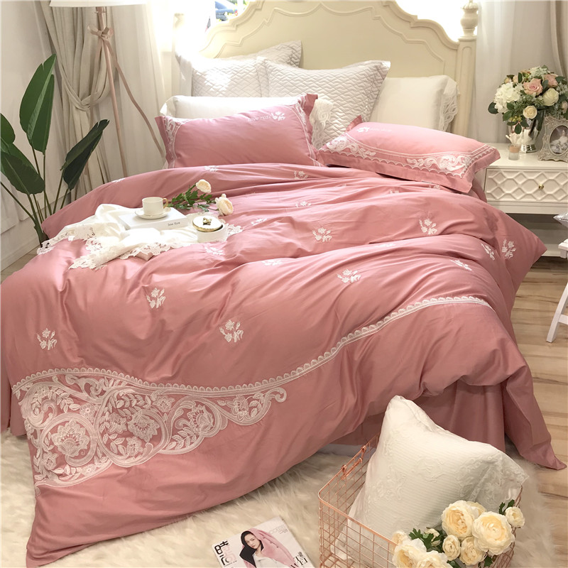 Aliexpress.com : Buy Elegant Embroidery Bedding Set Soft