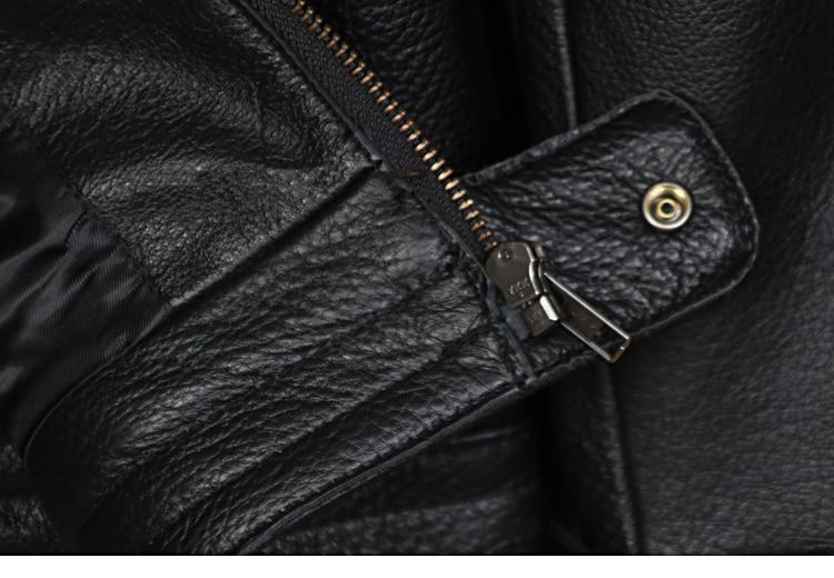 HTB15jl0EVzqK1RjSZFvq6AB7VXaX Free shipping plus motor Brand style Vintage men's quality genuine leather Jackets slim 100% natural cowhide jacket.leather coat