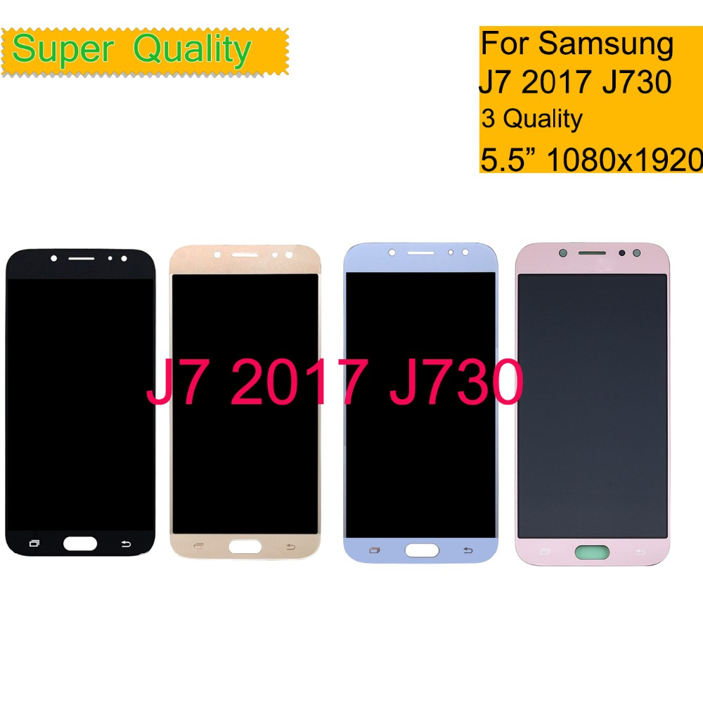 Super AMOLED For SAMSUNG GALAXY J7 Pro 2017 J730 J730F SM-J730F LCD Display Touch Screen Digitizer Pantalla monitor AssemblySuper AMOLED For SAMSUNG GALAXY J7 Pro 2017 J730 J730F SM-J730F LCD Display Touch Screen Digitizer Pantalla monitor Assembly