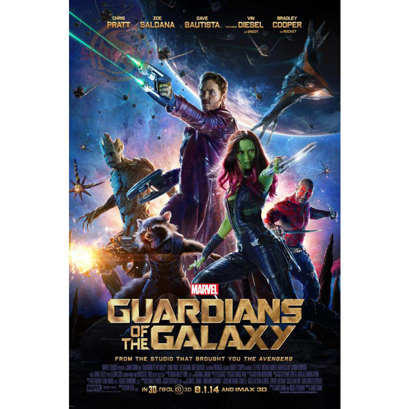 New Guardians Of The Galaxy Poster Custom Satin Poster Print Cloth Fabric Wall Poster Print Silk Fabric Print Poster