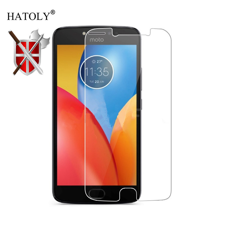 2Pcs Glass For Motorola Moto E4 Plus USA Tempered Glass Screen Protector For Moto E4 Plus Full Glue Phone Film For Moto E4 Plus image